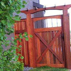 Exotic Hardwood Fence