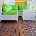 Red Balau Balcony Decking