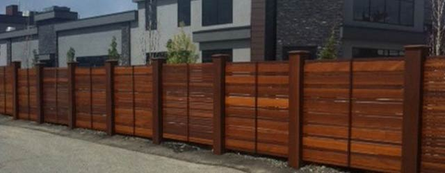 Red Balau Hardwood Fencing