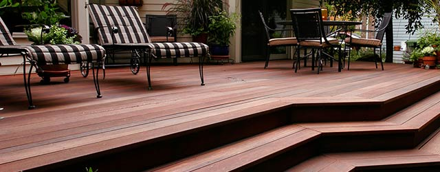 Yellow Balau Backyard Deck